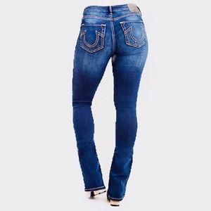 True Religion Bobby big T boot cut denim jeans
